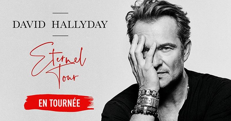 DAVID HALLYDAY ETERNEL TOUR